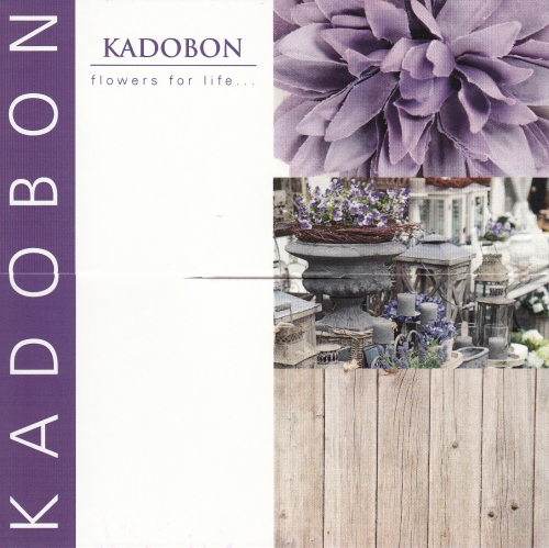 Kadobon Purple flowers for life