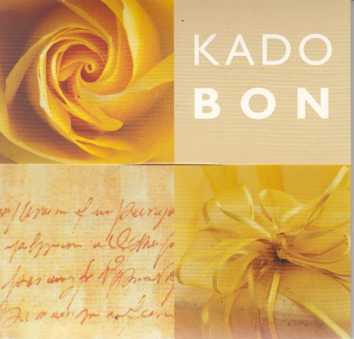 Kadobon Yellow rose